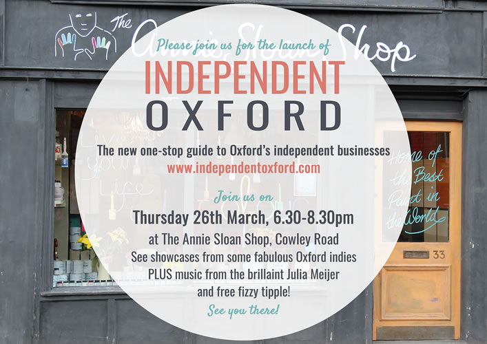 Independent Oxford Invitation