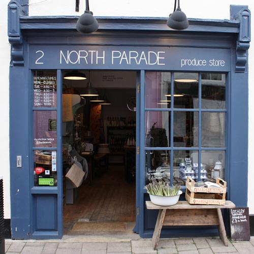2 North Parade shop front