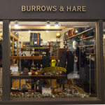 Burrows and Hare Shop Front