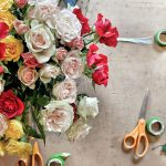 Flower crown roses