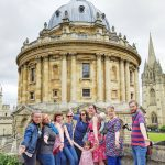 Radcliffe Camera group shot