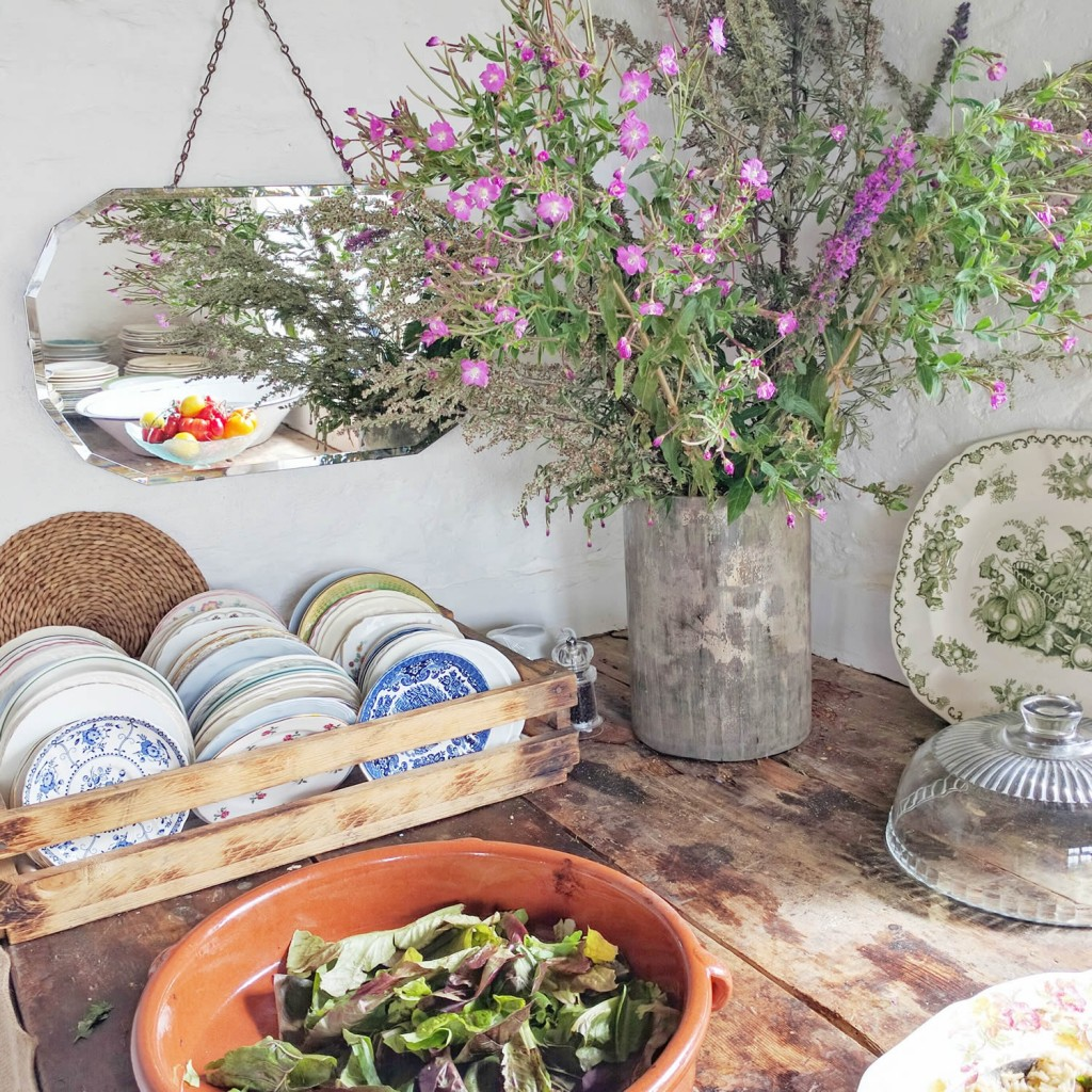 The Potting Shed table