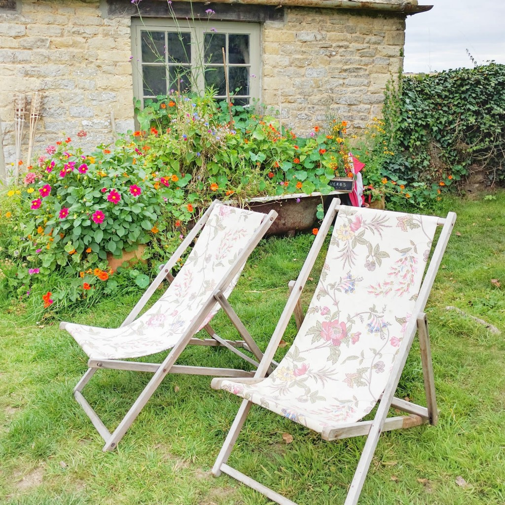 The Potting Shed deck chairs