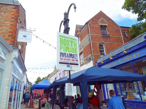 North Parade Market Oxford