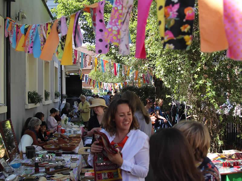 Magdalen Flea Market Oxford