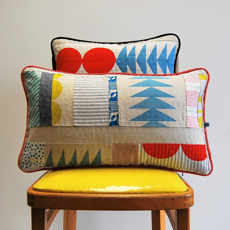 Miesje Chafer Quilted Cushions