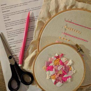 Beginners Modern Embroidery Workshop @ Turl Street Kitchen   England   United Kingdom