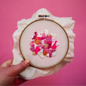 Beginners Modern Embroidery Workshop @ Turl Street Kitchen | England | United Kingdom