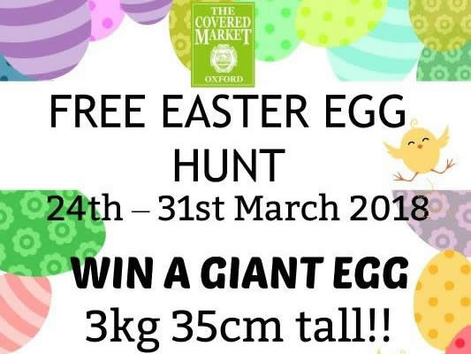 The Covered Market Easter Egg Hunt