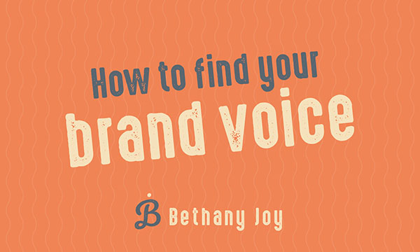 How to find your brand voice workshop oxford