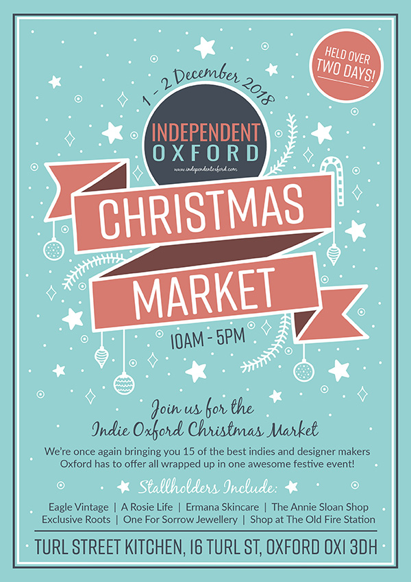Independent Oxford Christmas Market