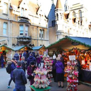 The Oxford Christmas Market @ Broad Street, Oxford | England | United Kingdom