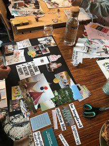 The Positive Planner Vision Boarding Workshop @ Arts at the Old Fire Station | England | United Kingdom