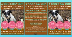 Local Food & Craft Market - Dog's Day Out! @ The Oxford Artisan Distillery | England | United Kingdom