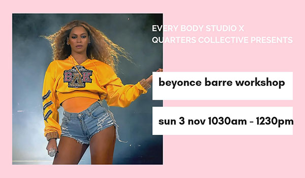 Beyonce Barre Workshop Oxford