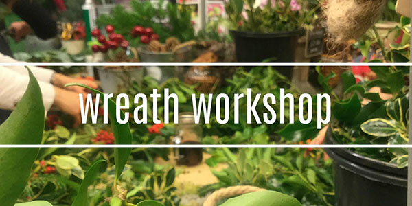 Christmas Wreath Making Workshop Oxford