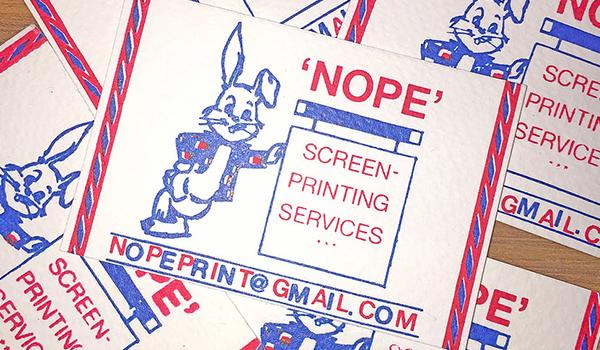 nope print studio