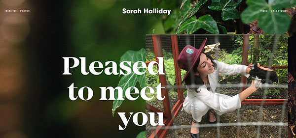 Sarah Halliday Web Design Oxford