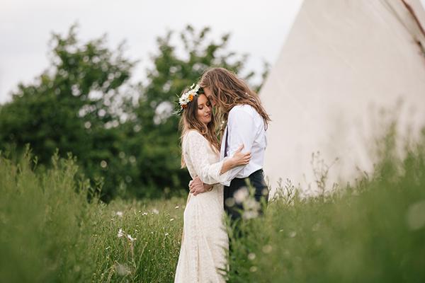 Boho Wedding inspiration Oxford yurt Rachel Movitz