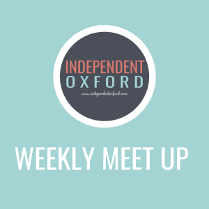 indie oxford weekly meet up graphic