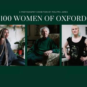 Philippa James 100 Women of Oxford Graphic