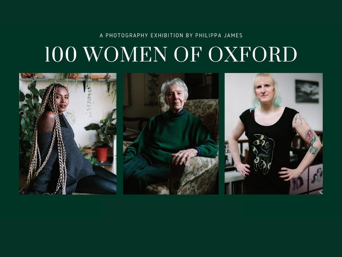 Philippa James 100 Women of Oxford Graphic