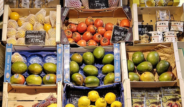 Bonners Fruit and Veg Oxford Covered Market