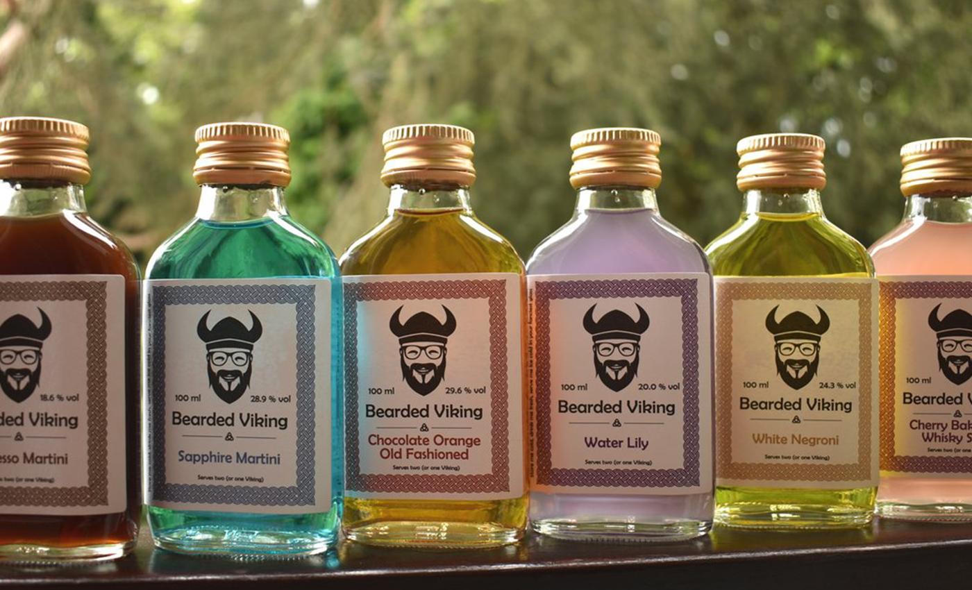Bearded Viking Drinks Oxford