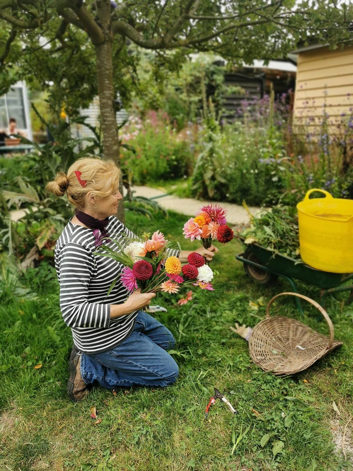 Worton Kitchen Garden Flowers
