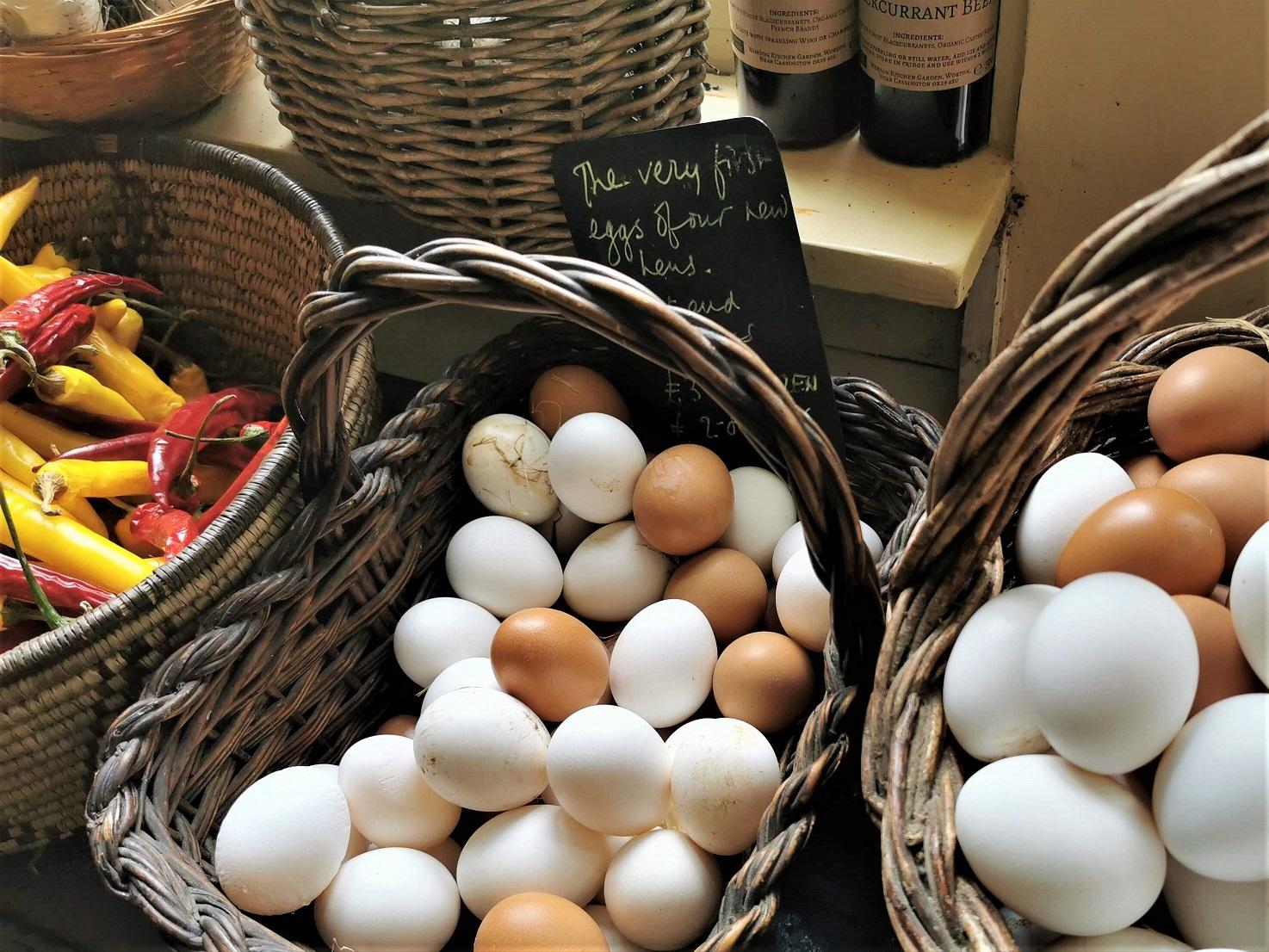 Worton Kitchen Garden Eggs