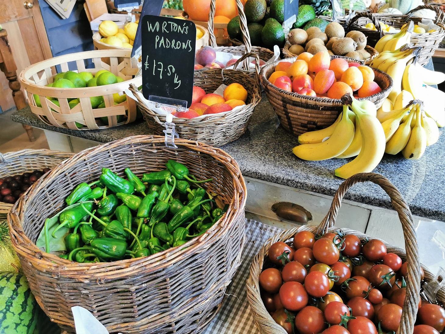 Worton Kitchen Garden Produce Farm Shop