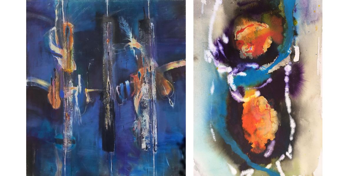 David Armitage Paintings Jam Factory Oxford