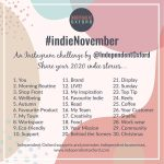 indie November Instagram