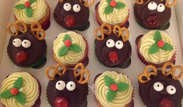 Christmas Cupcakes Happy Cakes