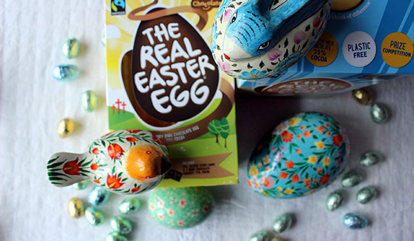 Fairtrade St Michaels easter egg