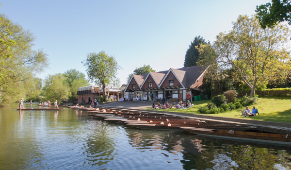 Cherwell Boathouse Oxford