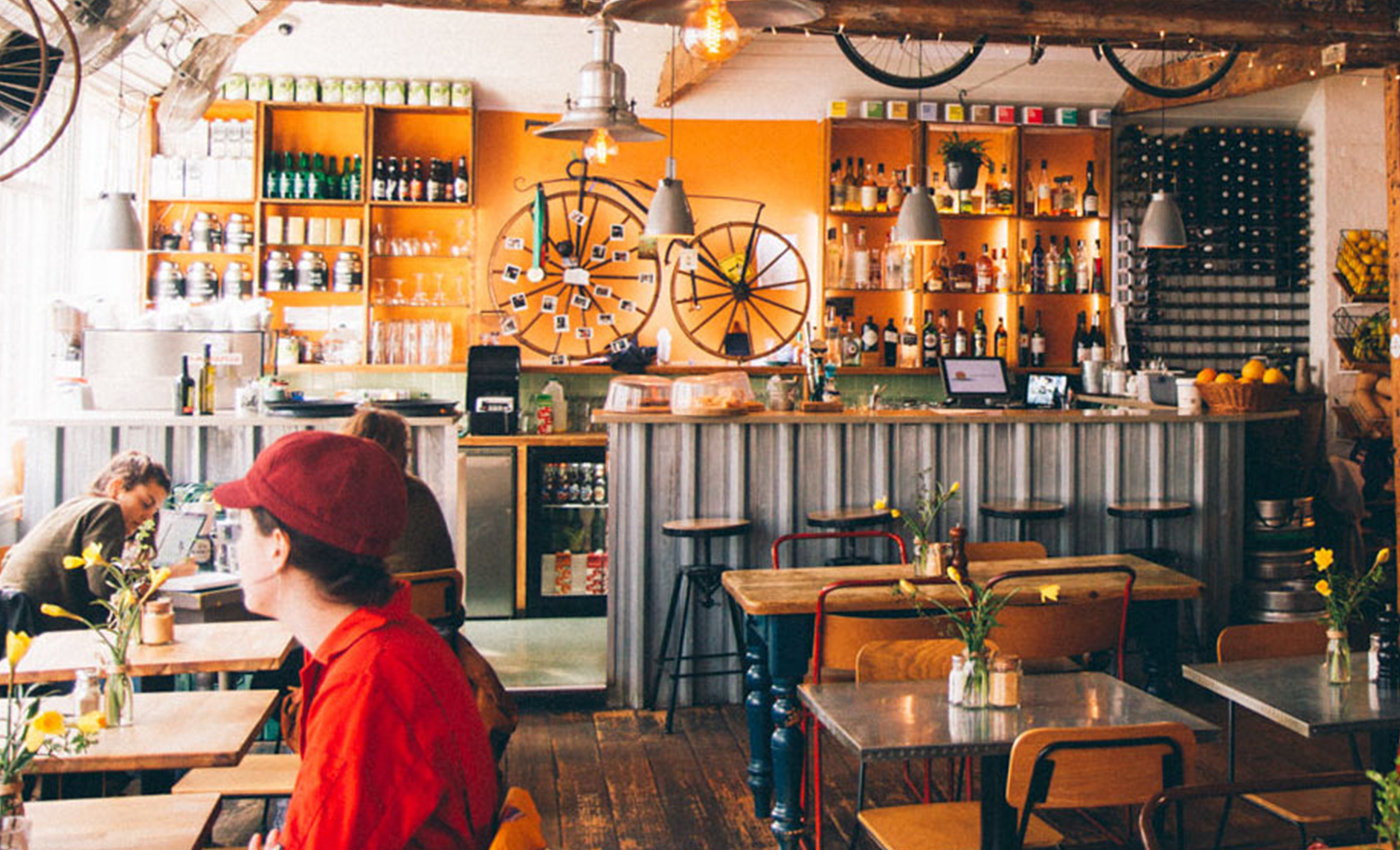 The Handlebar Cafe and Kitchen Oxford