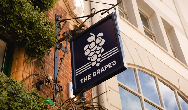 the grapes