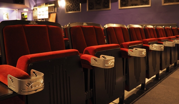 Upp cinema seats