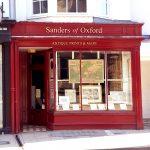 Sanders of Oxford shop front