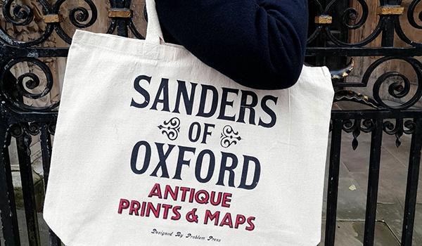 Sanders of Oxford tote bag