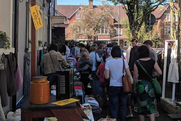 Magdalen Market Oxford