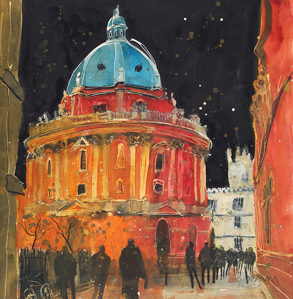 Susan Brown Radcliffe Camera Oxford