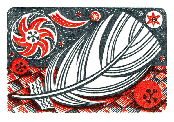 Angie Lewin Print Oxford