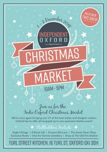 Independent Oxford Christmas Market @ Turl Street Kitchen | England | United Kingdom