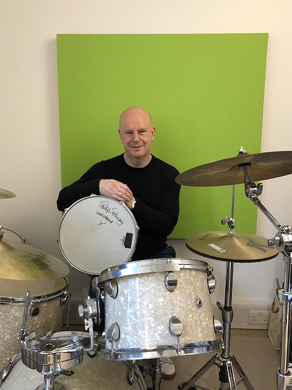 Philip Selway Radiohead Snare Drum