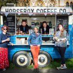 Horsebox Coffee team at Museum of Natural History Oxford