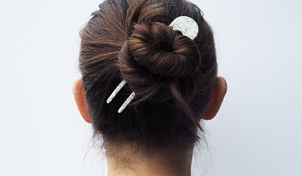 Custom Made Marmaro Hair Pin Oxford