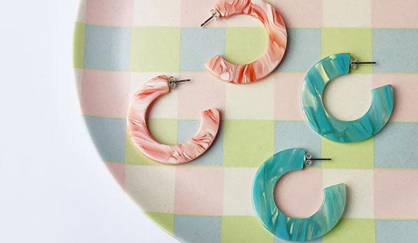 Custom Made Murano Earrings Oxford