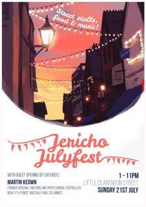 Jericho Julyfest 2019 @ Little Clarendon Street   England   United Kingdom